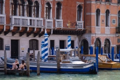 Tourists in Venice